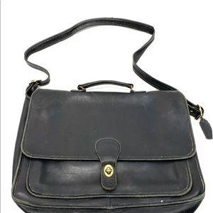 Coach vintage briefcase laptop office bag 16x12